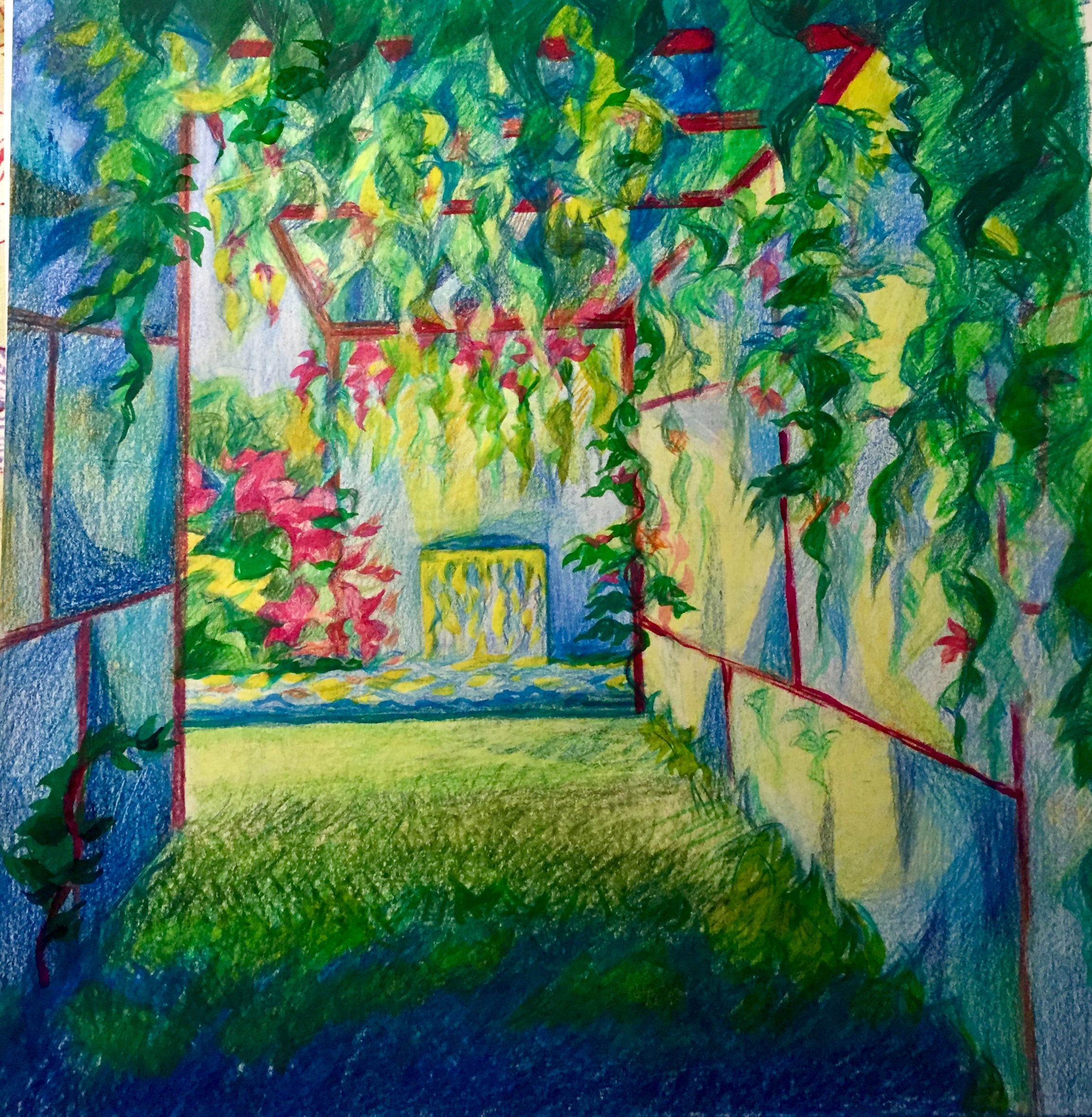 La porte du jardin d'Eden - Chaumont sur Loire